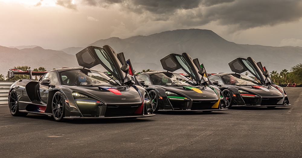 McLaren Honors F1 Legend Ayrton Senna With 3 One-Off $1.4M XP Supercars