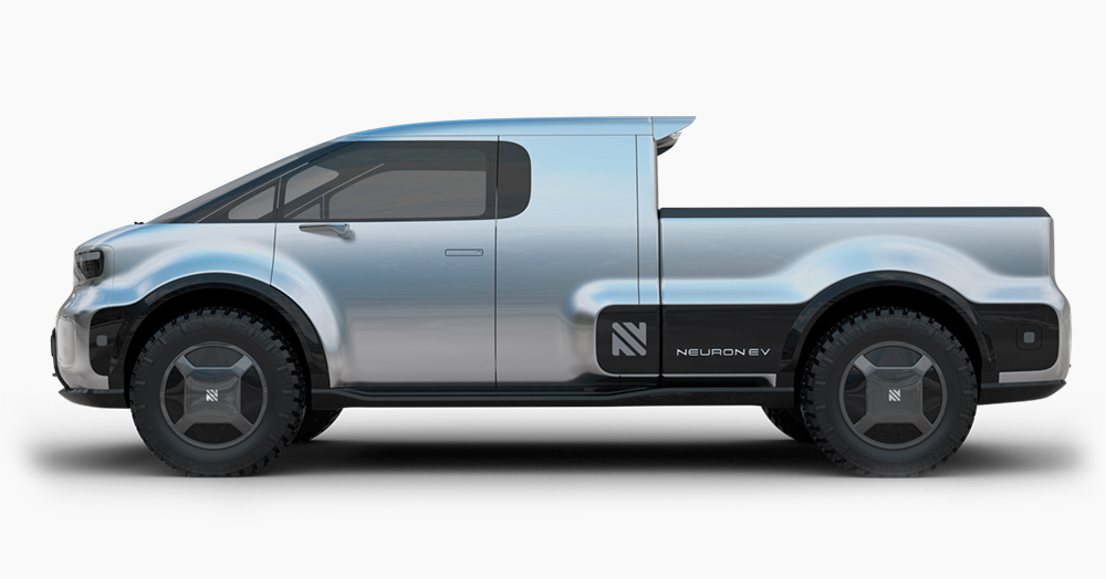 Neuron EV's T.One Is A Highly-Modular Electric Pickup From The Future