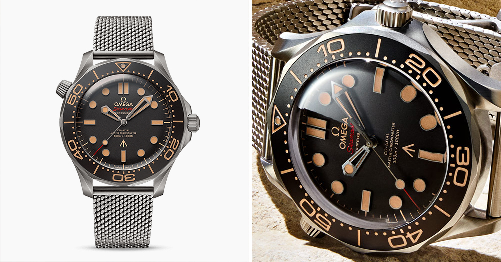 Bond's 'No Time To Die' Titanium Omega Dive Watch Has Been Revealed