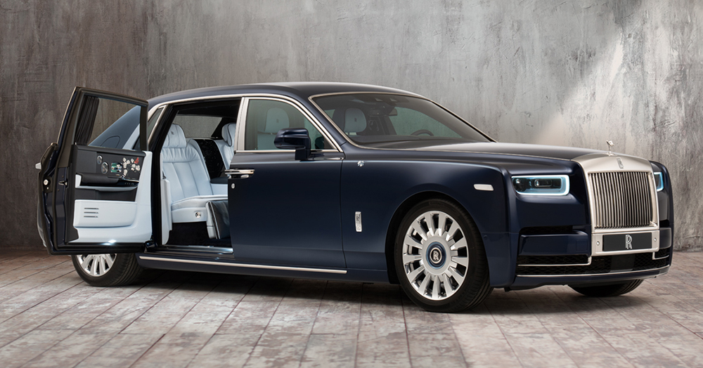 Rolls-Royce's Latest Bespoke Phantom Features A Million-Stitch Interior