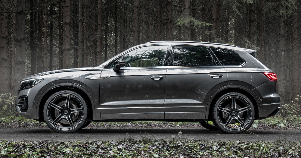 Volkswagen's Touareg TDI SUV Gets Kitted To 500HP By ABT Sportsline
