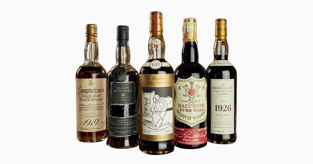 An Elite 3,900 Bottle Whisky Collection Is Headed For The Auction Block