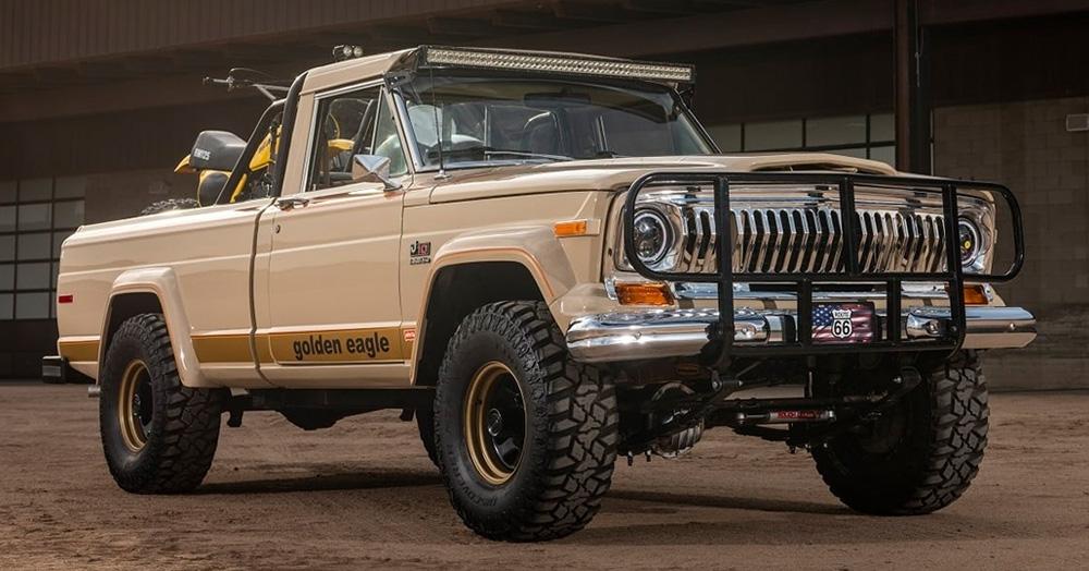 Auction Block: 1978 Jeep J10 J-Series Golden Eagle