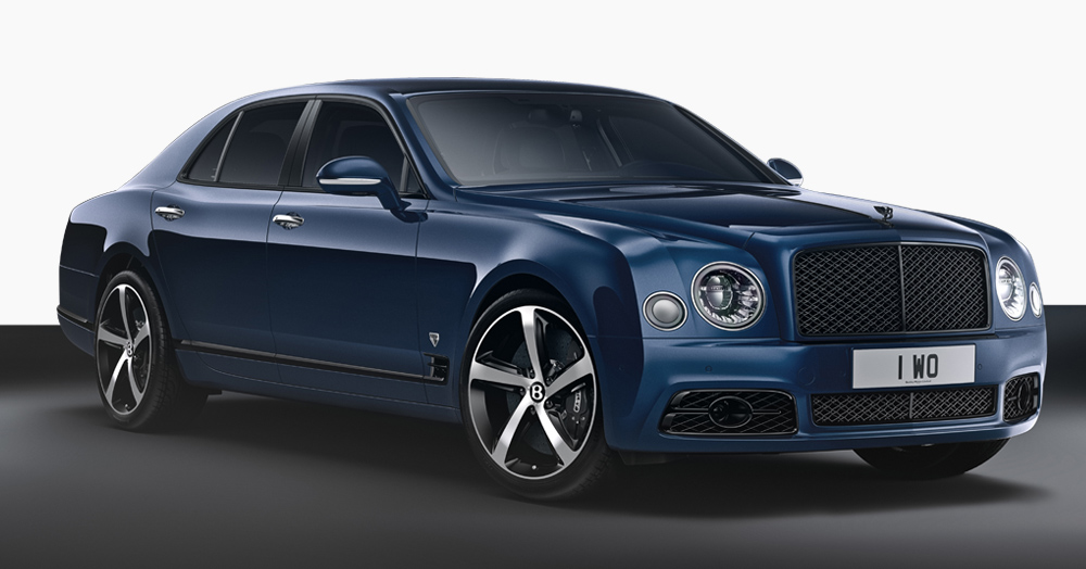 Bentley Bids Farewell To The Mulsanne With A V8 Ultra-Limited Edition