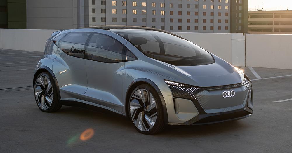 Audi's AI:ME Autonomous EV Is A Self-Driving Garden Relaxation Station