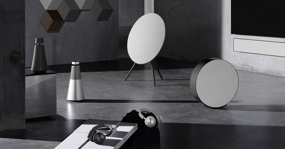 B&O Taps Danish Architects For The Sleek & Unique 'Contrast Collection'