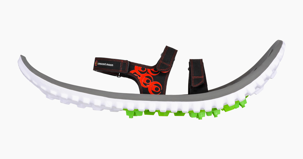 Crescent Moon Adopts Sustainability With Biodegradable Snowshoes