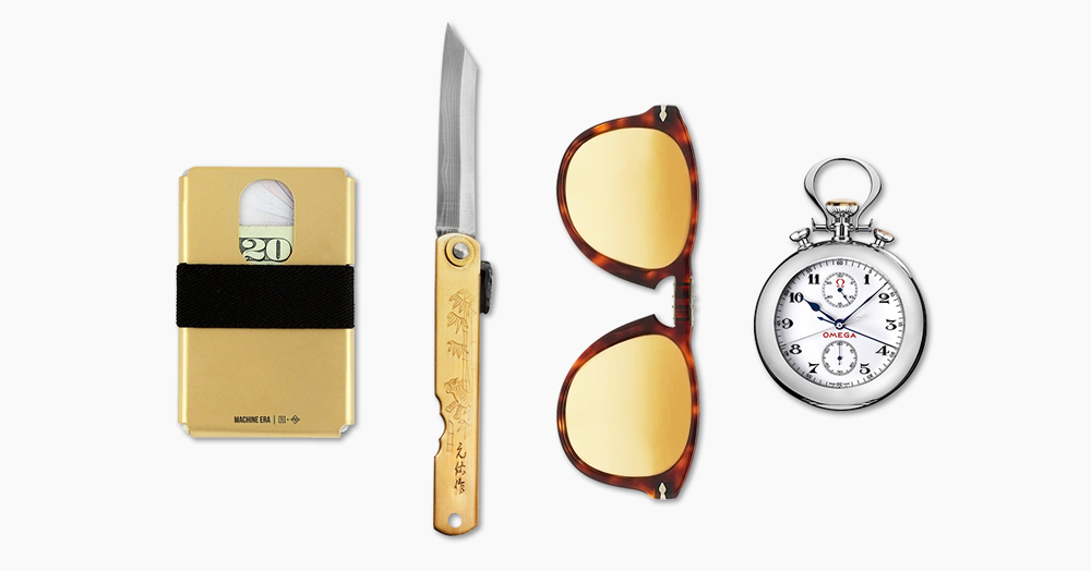 Everyday Carry: Solid Gold