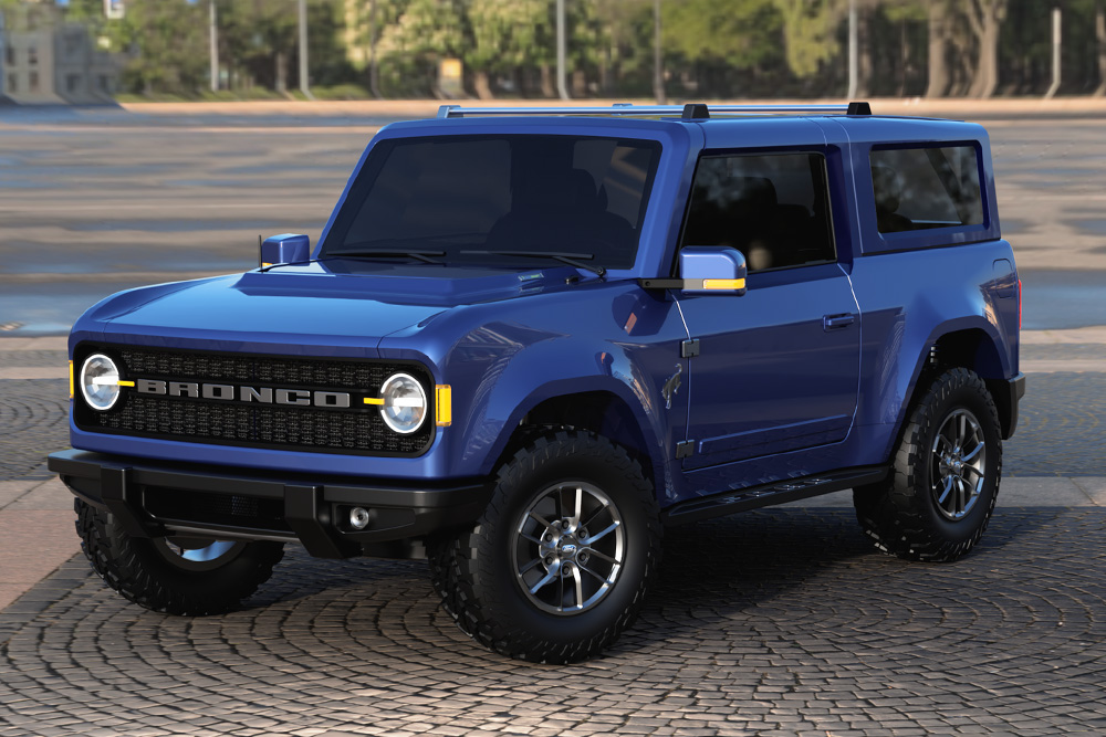 2021 Ford Bronco Concept Renderings