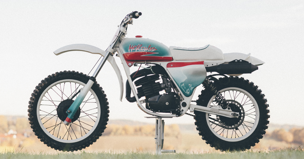 Loose Screw's Custom Hercules Is The Ultimate '80s-Style MX Restomod