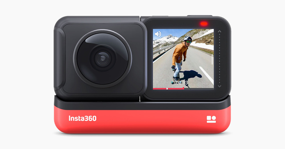 Insta360's 5.7K ONE R Is The Most Modular HD Action Cam Ever Built