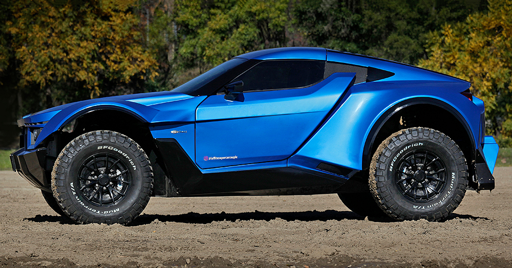 Laffite's 720HP Off-Road Supercar Is Ready For A Day At The Dunes