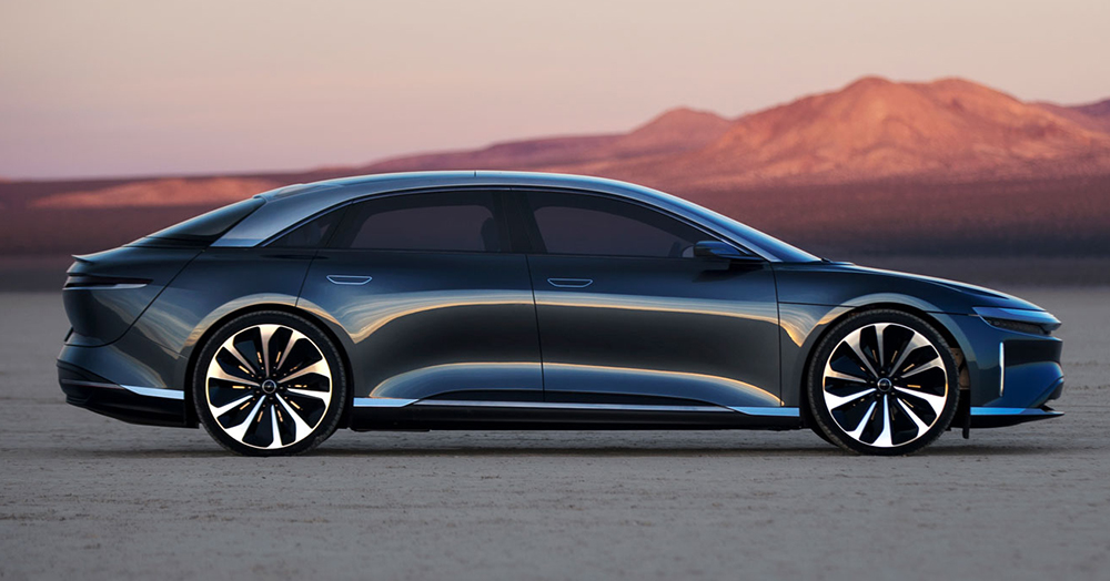 The Lucid Air Is A Luxurious 200MPH Tesla Killer With A 400-Mile Range