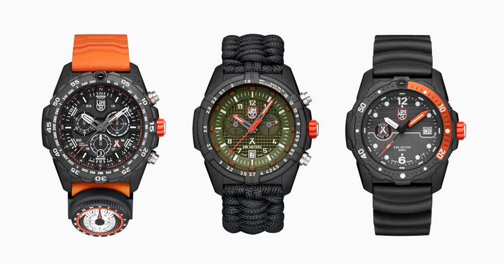 Luminox & Bear Grylls Join Forces On An Ultra-Rugged Survival Watch Series
