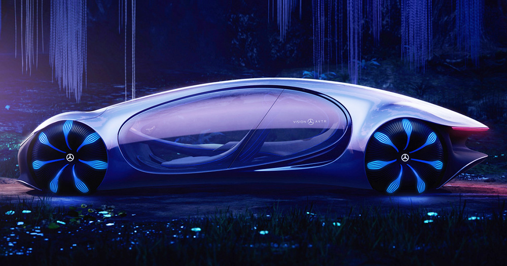 Mercedes' Vision AVTR Was Based On James Cameron's Epic Sci-Fi Flick