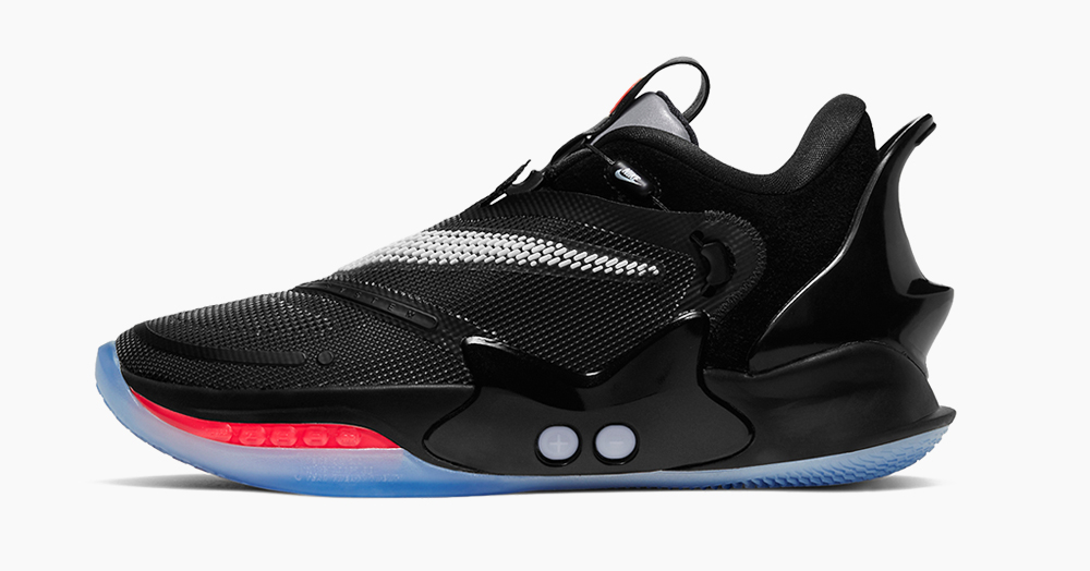 Nike Upgrades Its High-Tech Self-Lacing Basketball Shoe With The BB 2.0