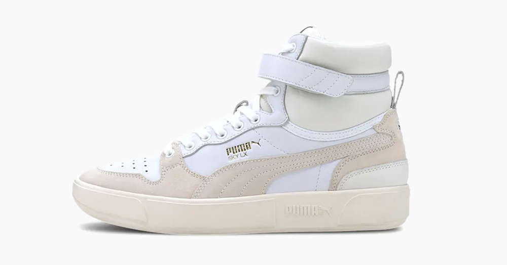 PUMA Dives Into Its Archives For The Resurrected Sky LX Mid Lux Sneaker