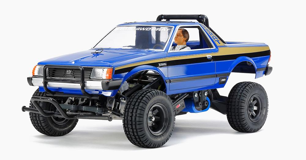 Tamiya's '83 Subaru BRAT Gets Revamped & Renovated Into A Modern RC Truck