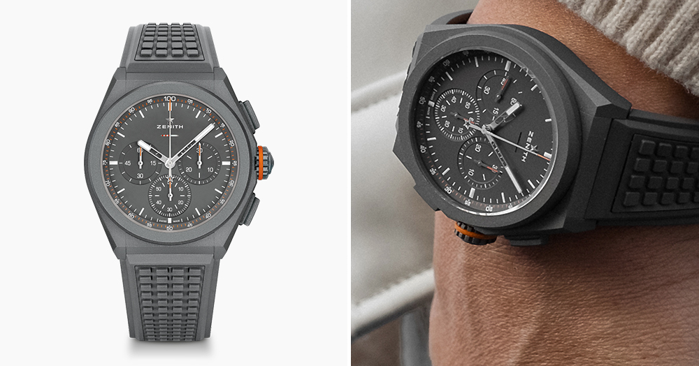 Zenith Partners With Land Rover On A Titanium Defender-Themed Chronograph