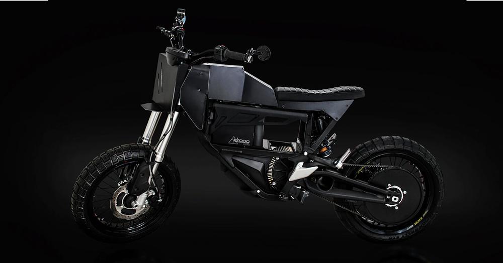 Droog Morphs A Zero Electric Moto Into A Post-Apocalyptic City Scrambler