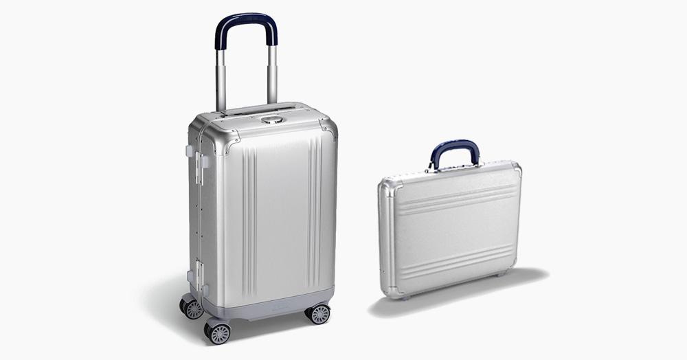 Zero Halliburton's Iconic Luggage Just Got Even More Indestructible