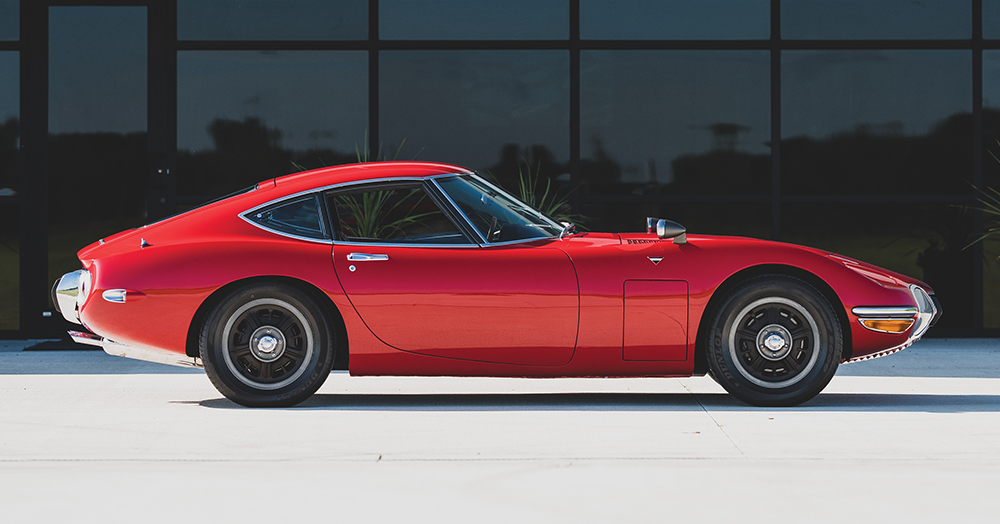 This Exceptionally Well-Kept 1967 Toyota 2000GT Is Headed To The Auction Block