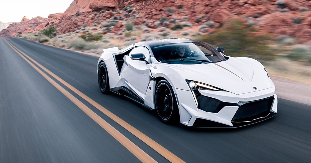 The 20 Fastest Cars In The World