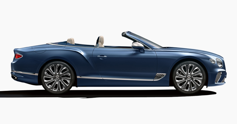 This New Bentley Is A High-Class Convertible With 400K Hand-Sewn Accents