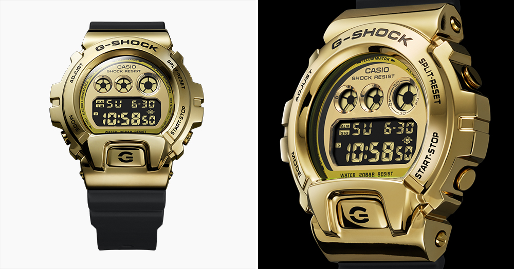 G-SHOCK's GM6900G Watch Celebrates The Influence Of Its 25-Year-Old Predecessor