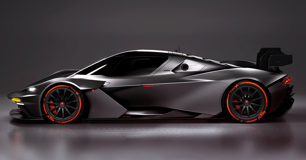 KTM Takes The X-Bow To New Levels With The 600HP Closed Cockpit GTX-Spec
