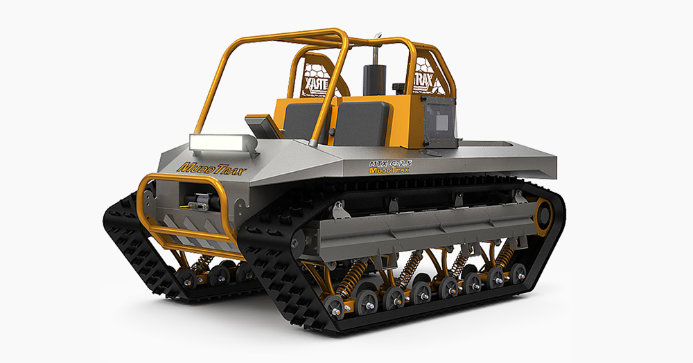 This Amphibious Vehicle Is A Two-Seater Tank Made To Dominate Terrestrial Terrain