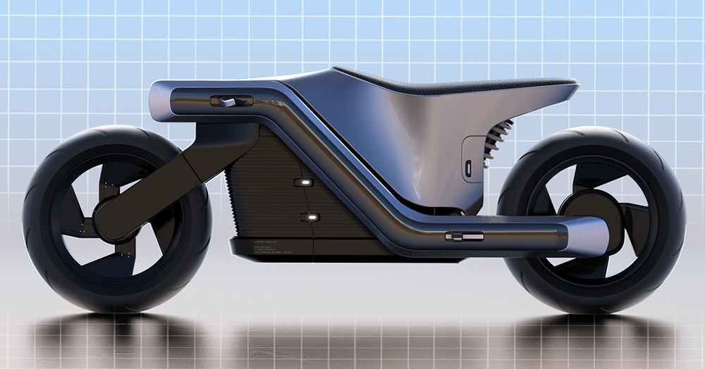 JRD's 'Z' Moto Is A Visionary Cycle Ripped Straight From The Streets Of Cyberpunk