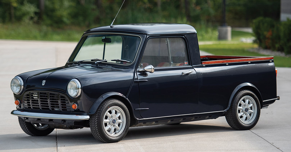 Austin Mini Packs A Full Load Of Cool Into This Small-Scale 1972 Pickup Truck
