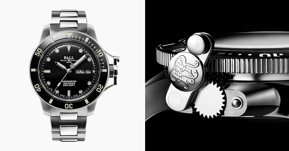 Ball's Newest Explorer's Watch Features Micro Gas Tubes Under The Dial & Bezel