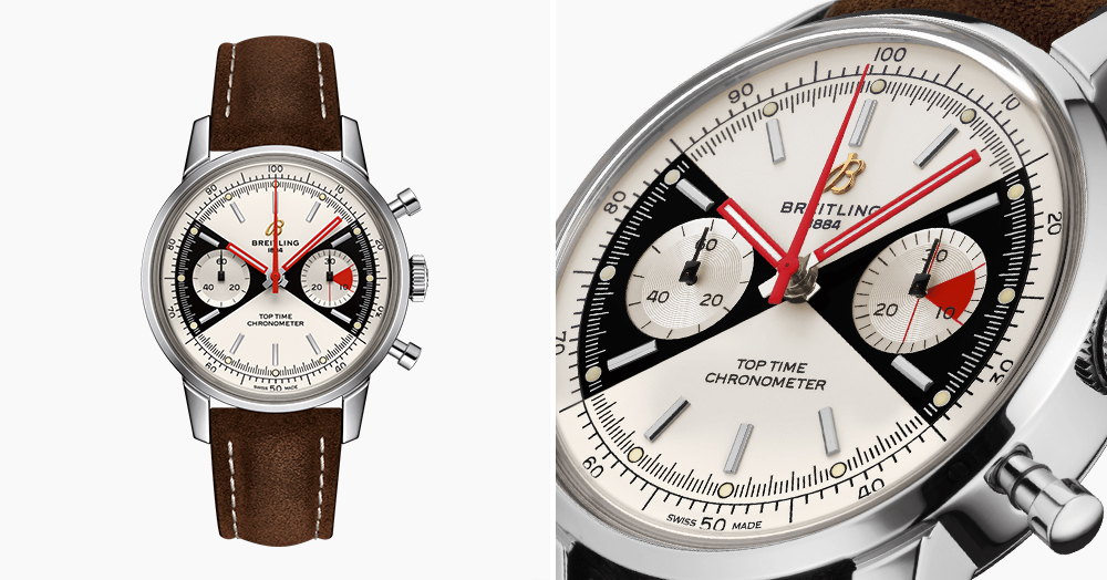 Breitling's Top Time Limited Edition Is A Recreation Of An Iconic 1960s Chrono Classic