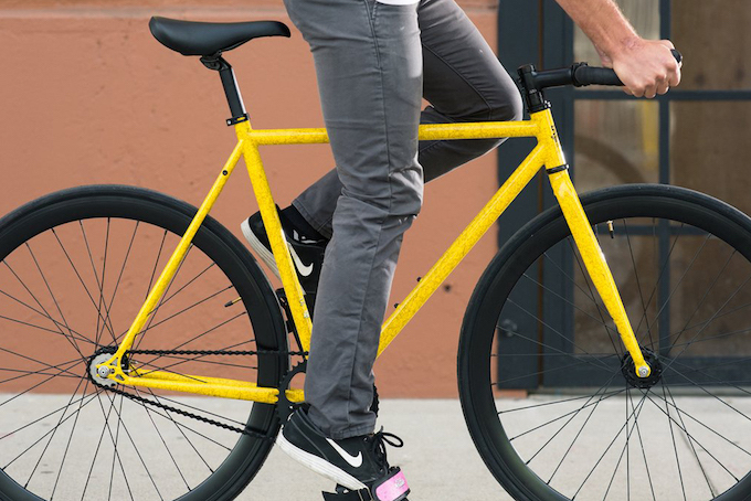 Aluminium Rail Handlebar Track Pista Handlebar Fixie Fixed Single Speed Road Racing Bike