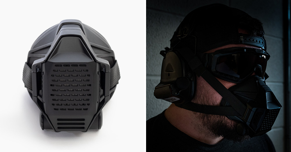 Project Black's TR2 Tactical Respirator Ensures Clean Air In All Conditions