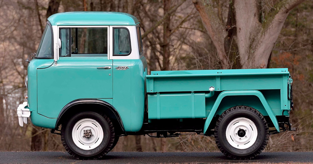 This Impeccable 1957 Willys FC-150 Off-Roader Just Hit The Mecum Auction Block