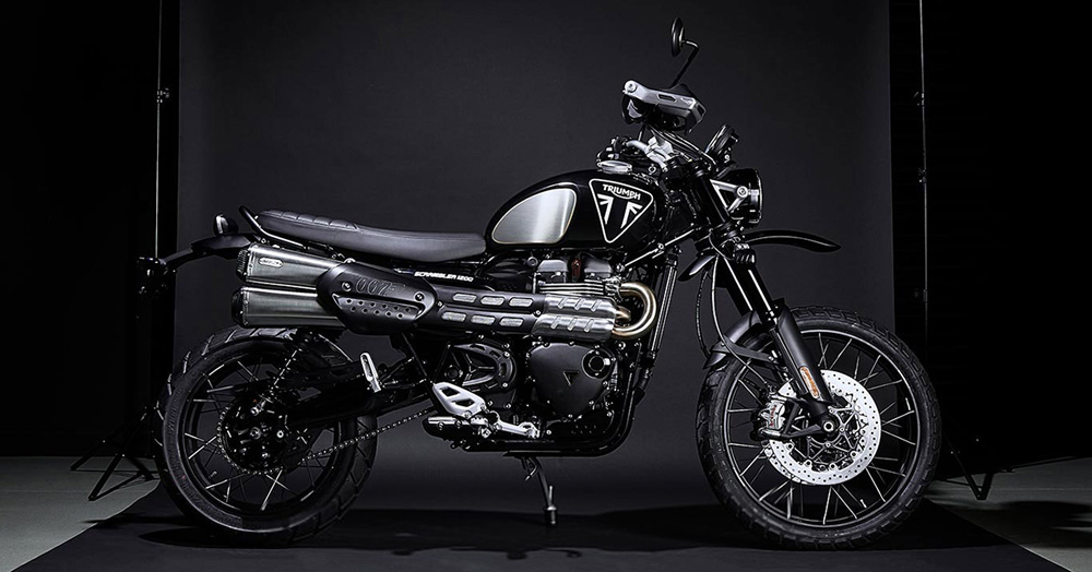 Triumph Is Making 250 Limited James Bond Edition Scrambler 1200 XE Models