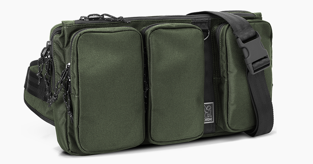 """Transport Your 13"""" Macbook In Style With Chrome's 840D Nylon MXD Link Smart-Sling"""