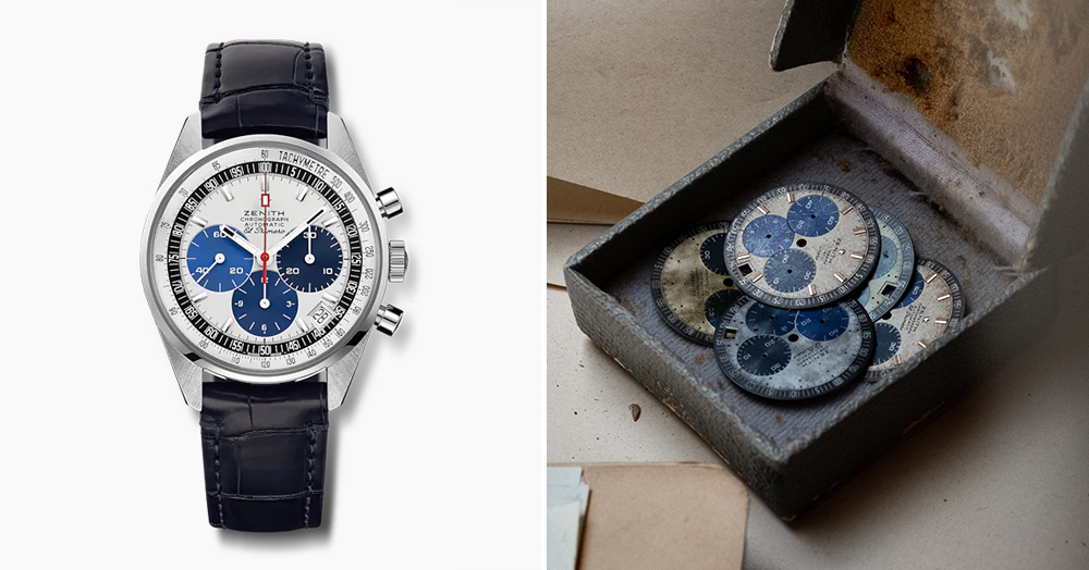 Zenith's Tri-Color Chronomaster Revival Incorporates A Dial From Over 50 Years Ago