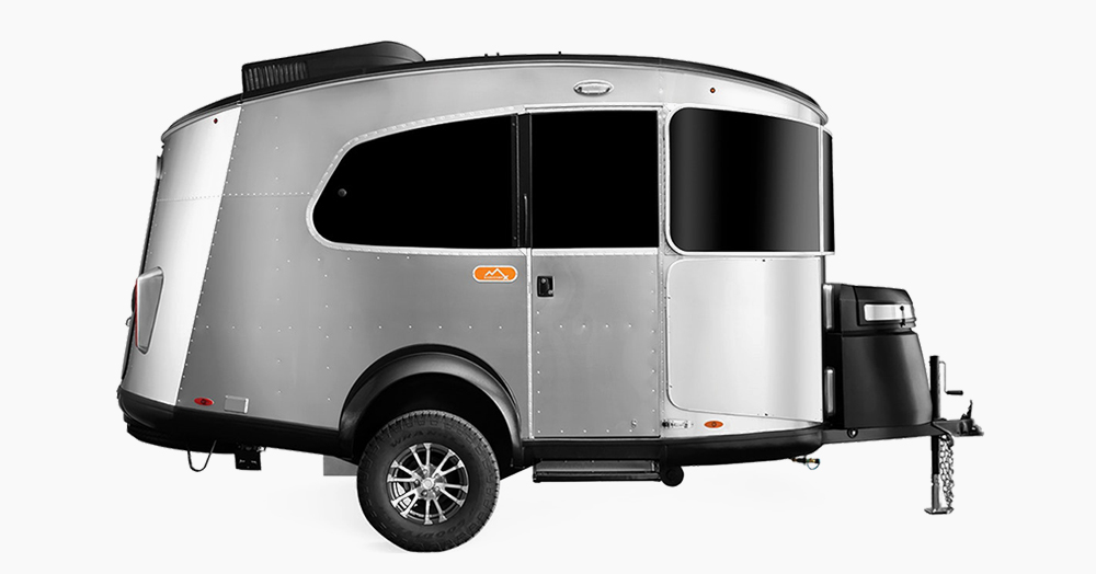 Airstream's Basecamp 20 Is A Modern Luxury Trailer With Retro Space Age Style