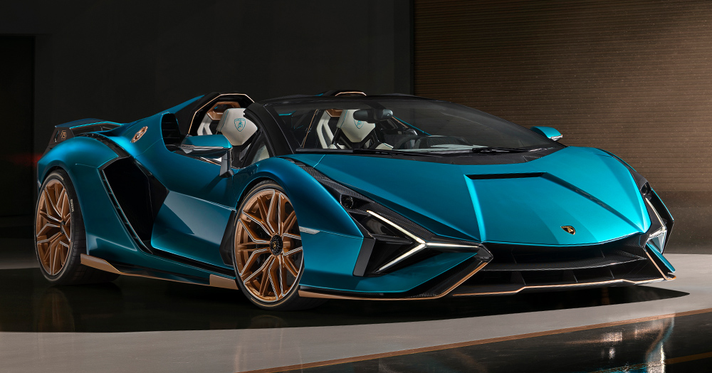 Lamborghini's 819HP Sian Roadster Is The Most Powerful Super Sport It's Ever Produced