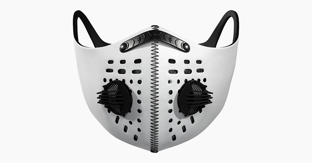 This Mask Protects Its Wearer From Containments As Small As 0.3 Microns