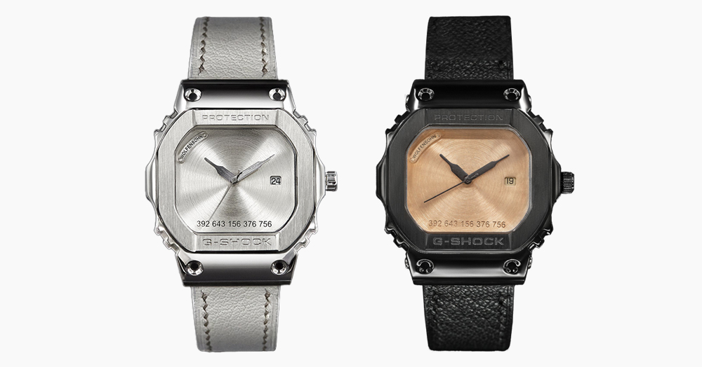 These Bespoke G-SHOCK Watches Are Each Painstakingly Made By Hand
