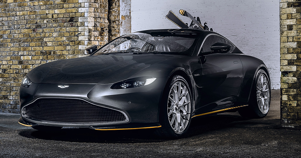 Aston Martin Harkens To 007's Most Beloved Autos With 2 Limited-Edition Models