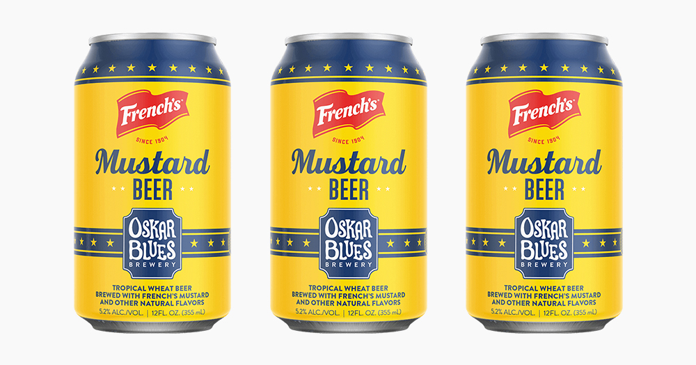Celebrate National Mustard Day With French's & Oskar Blues' Mustard Wheat Beer
