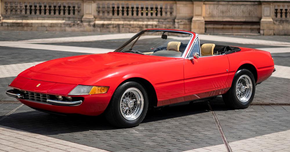 1967 Ferrari 365 Gtb 4 Daytona Spyder Prototype Hiconsumption