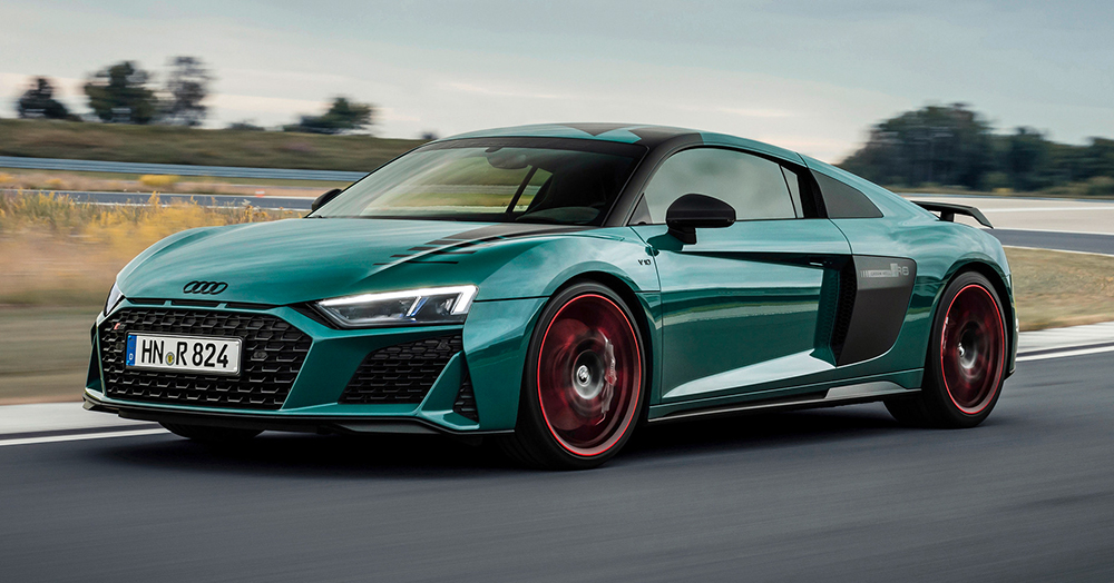 2021 audi r8 'green hell' edition | hiconsumption