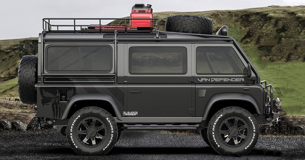 The 2020 Land Rover 'Van Defender' Is A Badass Off-The-Grid 4x4